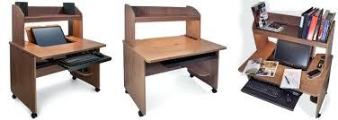 home office desks with storage. Narrow Desk With Storage Computer Mobile Black Home Office Hutch Long Desks