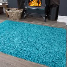 details about aqua teal blue soft fluffy gy rug bright colourful modern rugs for lounge uk