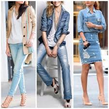 What Color Shirt To Wear With Light Blue Jeans What Colors To Wear With Light Blue Jeans
