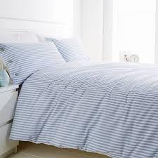 inspiring blue striped duvet and covers interior outdoor room design