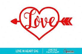 This page is about laurel heart svg,contains floral heart wreath svg cutfile flourish clipart for. Love Heart Svg A Valentine Svg Vector File 196090 Svgs Design Bundles Heart Clip Art Valentines Svg Arrow Svg