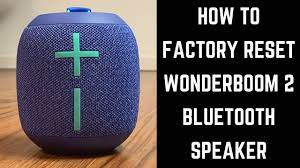 How to Factory Reset Wonderboom 2 Bluetooth Speaker - YouTube