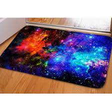 commercial kitchen floor mats lovable hugsidea fashion space stars galaxy carpet funny flannel area rugs