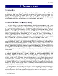 questions on behaviorism essay questions on behaviorism