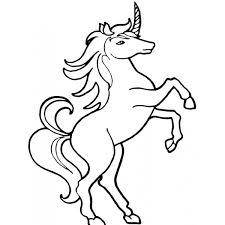 Disegno Di Unicorno Da Colorare Per Bambini