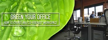 Eco friendly office furniture Mini Office Nationonthetakecom Green Your Office How To Create An Ecofriendly Workspace