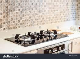kitchen gas stove. Kitchen Gas Stove In The