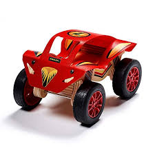 stanley jr monster truck wood building kit diy kits for kids easy to assemble truck building set wooden crafts for boys and girls paint decals