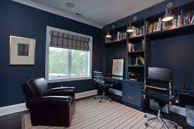 paint ideas for home office. Appealing Home Office Paint Ideas With Dependable Dark Blue Colors For