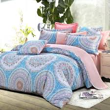 pink sheets queen see the light comforter set blue bed grey and folklore pattern sheet sets