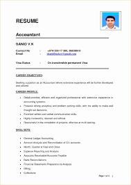 Original Resume Format Best Of Bank Reconciliation Resume Sample