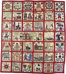 7 best Story Quilt images on Pinterest | Appliques, Archive and ... & Sampler quilt by Lucinda Ward Honstain, New York, dated featuring portraits  of Jefferson Davis and daughter---collection International Quilt Study  Center ... Adamdwight.com
