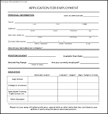 Employee Application Form Word New Employee Application Form Template Job Html Css Free