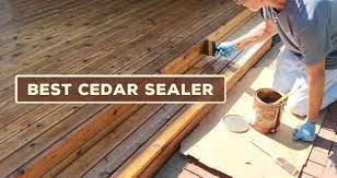best sealer for cedar wood 2021
