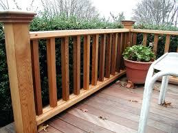 deck railing option cedar deck railing ideas wide option of deck railing ideas design deck railings