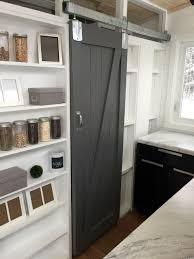 diy barn door for tiny house