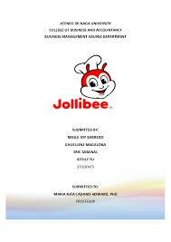 Jollibee Food Corporation Organizational Chart Pdf Jollibee Foods Term Paper Kithly Yu Academia Edu