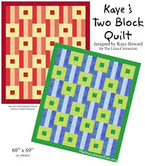132 best Project Linus images on Pinterest | Baby afghans, Cot ... & Kaye's Two Block Quilt - a free pattern by Linus volunteer Kaye Howard!  (requires Adamdwight.com