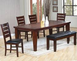 dining room mahogany furniture beige fabric uphostered chairs convert table to fire pit dark brown