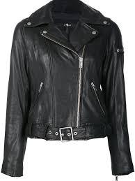 7 for all mankind zip up biker jacket