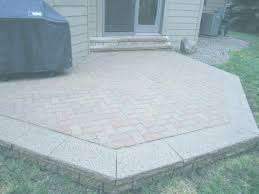 paver patio cost raised paver patio red images