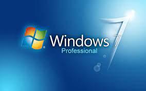 Windows 7 Professional Desktop ...
