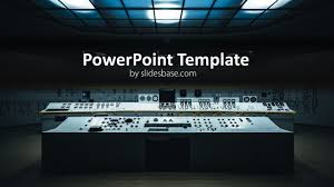 Operations Control Center Powerpoint Template