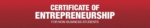 Certificate Ku Center For Entrepreneurship