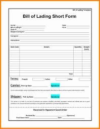 Free Bill Of Lading 24 Free Bill Of Lading Template Exclusive Resumes 9