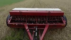 International 510 Grain Drill Seed Chart Ih 510 Grain Drill Food Plot Seeding With Cover Crops