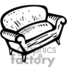 couch clipart black and white. Modren Couch Clipart Info For Couch Black And White