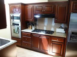 Refinished Mahogany Kitchen  Hausslers Kitchens Cabinet Refinishing And Refacing ExpertsHausslers