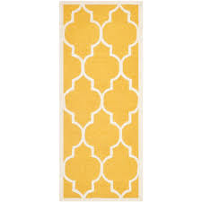 cambridge gold ivory 3 ft x 18 ft runner rug