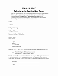 Sample Scholarship Application Letter Templates Awesome 50 Unique