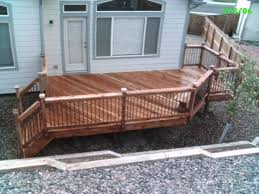 Wood Patio Designs Deck And Patio Designs Exterior Deck And Privacy Wall In West