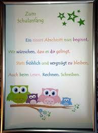 Zum Schulanfangkunstdruck Deutsch Schule Schulanfang Und