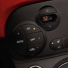 fiat interior. 2017 fiat 500 automatic temperature control fiat interior i