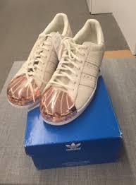 womens adidas superstars size 7 adidas store womens adidas originals superstar 80s rose gold metal