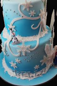 Frozen Birthday Cake Sweet Passion Cakery
