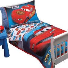 disney cars toddler bed set kids