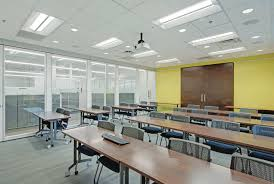 office lighting solutions. With Cree\u0027s Intelligent Lighting Solution, Avid Solutions Is Able To Organize The Interior Into Zones For A Systematic Management. Office U