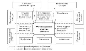 факторов внешней среды на эффективность организации курсовая Влияние факторов внешней среды на эффективность организации курсовая