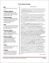 9 Descriptive Essay Examples Describing A Place Essay
