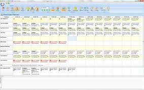 Staff Schedule Template Simple Employee Scheduling Software Screenshots Scheduling Software Images