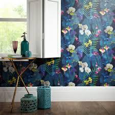 Teal Bedroom Wallpaper Girls Chic Wallpaper Kids Bedroom Feature Wall Decor Various