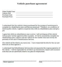 Car Purchase Agreement Template Owner Financing Contract Template Inspiration Auto Purchase Agreement Template