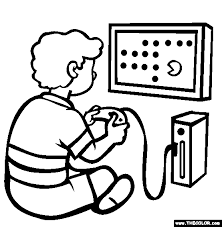 Small Picture The Video Game Console Coloring Page Free The Video Game Console