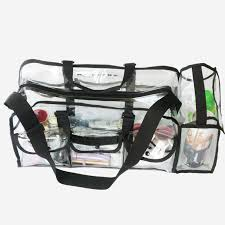 freeshipping clear pvc makeup bag pvc material jewelry travel organizer cosmetic bag in cosmetic bags cases from luge bags on aliexpress
