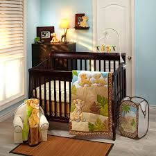 disney baby nursery bedding nursery bedding collections baby the lion king  urban jungle 4 piece crib
