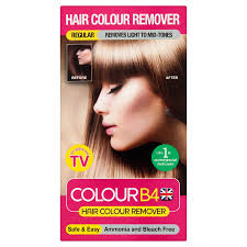 get ations colour b4 3 x hair colour remover regular